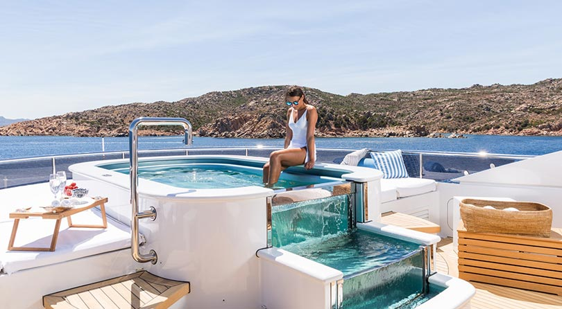 Yachts Middle East - Imperial Yachts - Ariadna Jacuzzi