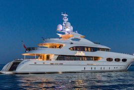 47m MY ARIADNA Presented for sale at Monaco Yacht Show with Imperial Yachts