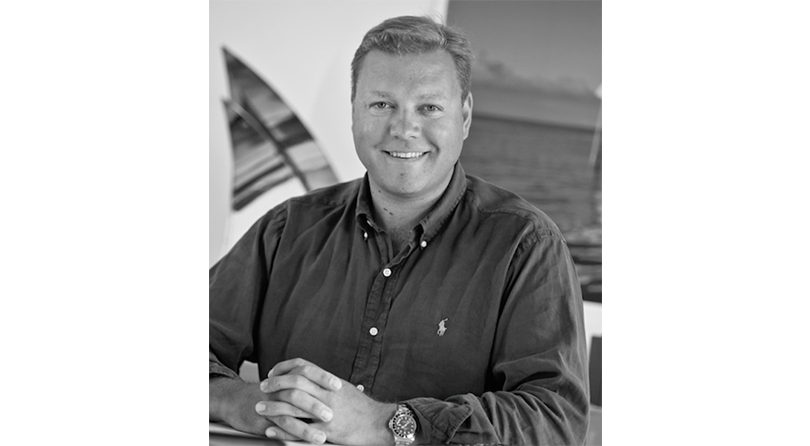 Yachts Middle East - Toby Walker when he set up Stockbridge Yacht Brokers