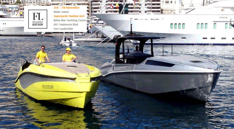 WIDER AT FORT LAUDERDALE INTL BOAT SHOW 2016