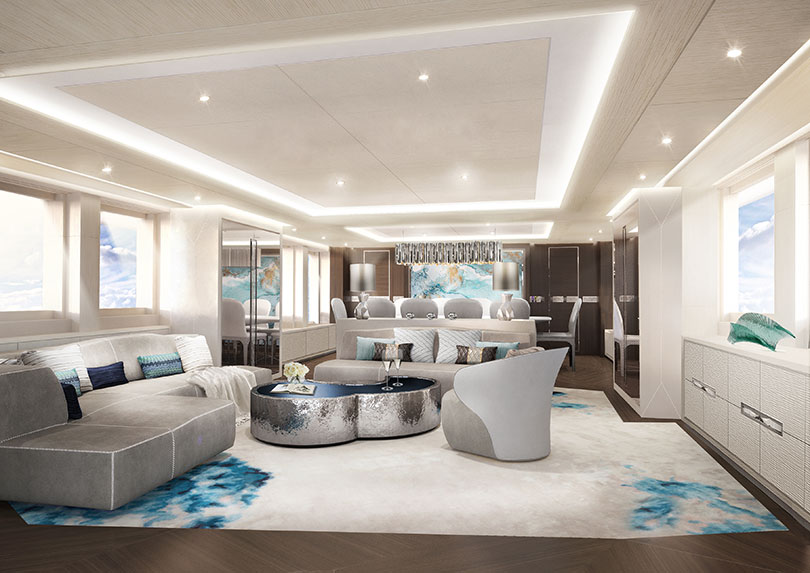 Yachts Middle East - Heesen Yachts - Maia yacht interior