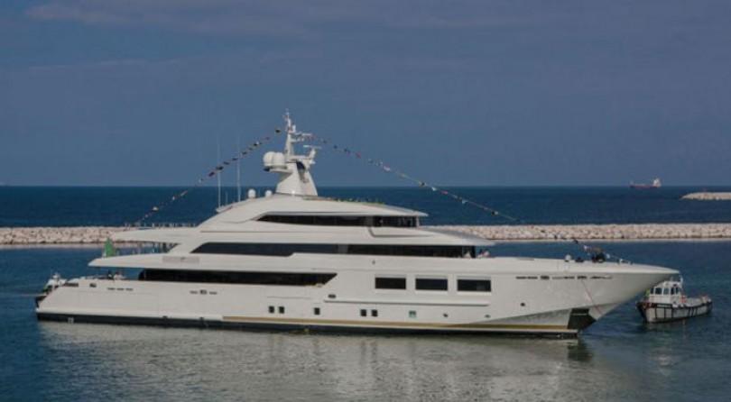 CRN تطلق M/Y CRN 133: يخت بطول 61 متر، صنع في إيطاليا في أنكونا