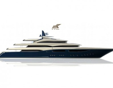 A new letter of intent signed by CRN for the construction of a 77 metres megayacht
