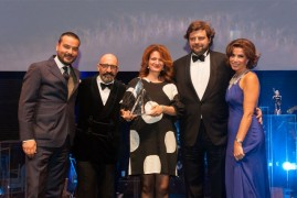M/Y CRN Saramour world premiere at the Monaco Yacht Show