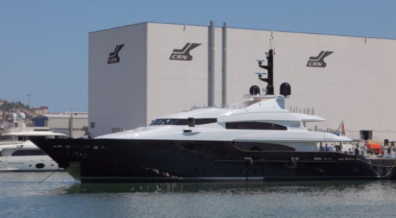 New launch for CRN: the Eight, the first refit of a CRN yacht, is back in the sea
