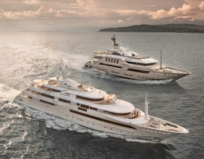 CRN signs a new contract for the construction of a 50m M/Y SUPERCONERO