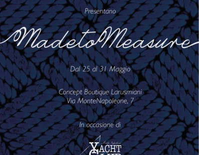 يقدم Larusmiani وCRN يخت Made to Measure