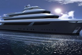 Latest 54m Superyacht SKUA54 concept by Ira Petromanolaki of IP.YD studio