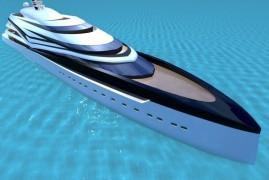 IP.YD Unveil 120m Superyacht Design