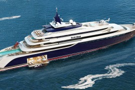 NOBISKRUG BLUE SEAS – 130 m Superyacht
