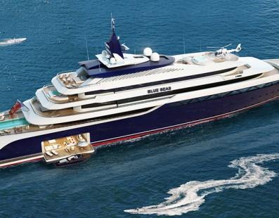 NOBISKRUG BLUE SEAS – 130 m Superyacht