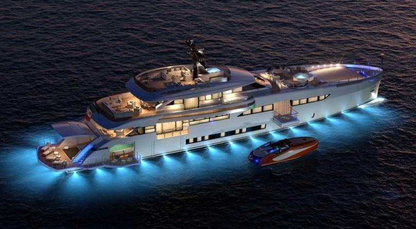 Wider '165 – سفينة باني اليخوت الإيطالي