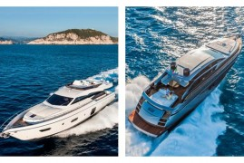 The Ferretti Yachts 750 and Pershing 62: two première for the german market at the Düsseldorf International Boat Show