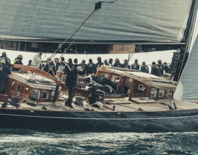 Lionheart wins J Class Falmouth Regatta