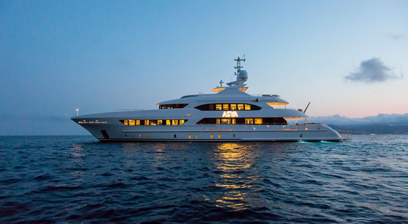 Heesen announces the delivery of M/Y Asya, 47m full displacement.
