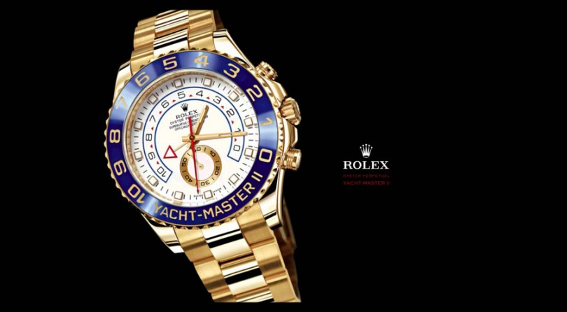 ROLEX: The Oyster Perpetual Yacht-Master II