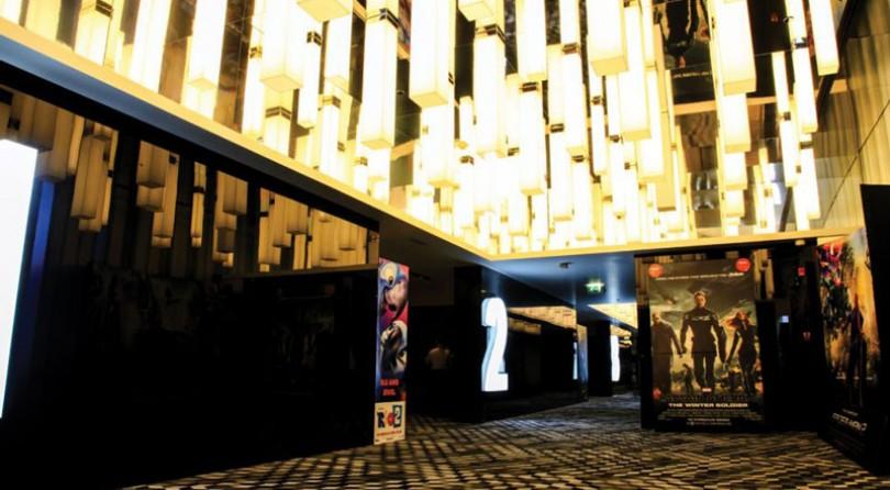 Reel Cinemas على شاطئ دبي