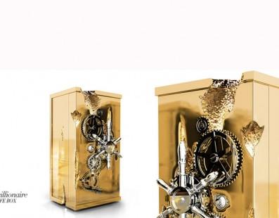 مجموعة محدودة لخزنة المليونير من تصميم Boca do Lobo