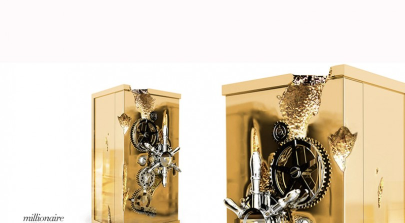 Limited Edition Millionaire Safe by Boca do Lobo
