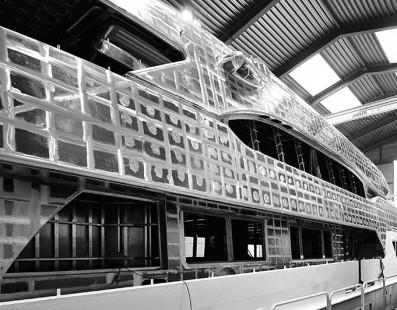 تجهيز Ruya بطول 47 متر، قيد التنفيذ