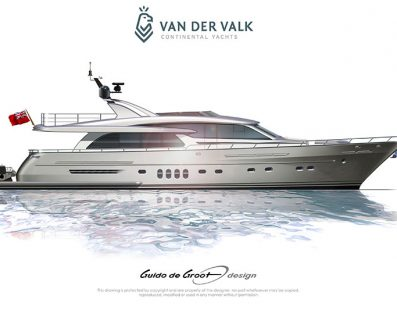 تلقت شركة Van der Valk طلباً لبناء يخت Continental Three ثالث