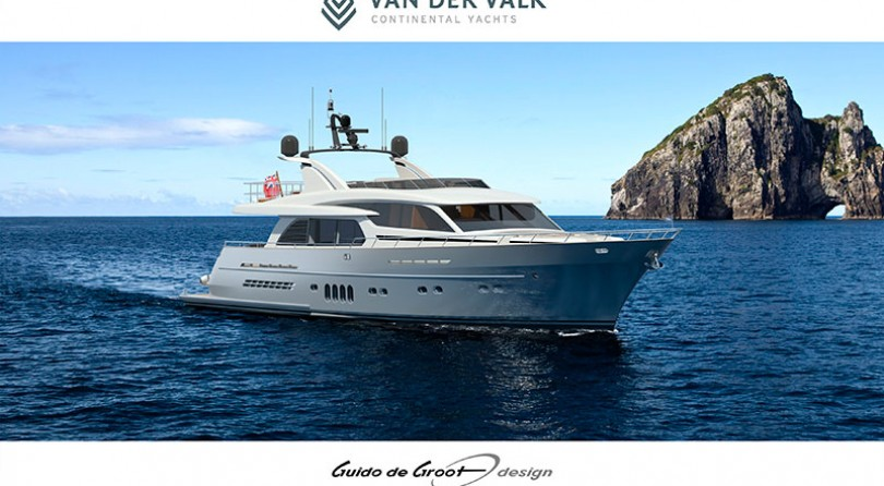 """Van der Valk Continental Yachts announces new order 27-metre yacht """"Continental Two"""" for experienced owner"""