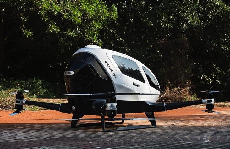تعد مروحية Ehang الأتوماتيكية بأن تطير بك إلى أي مكان، من دون طيار