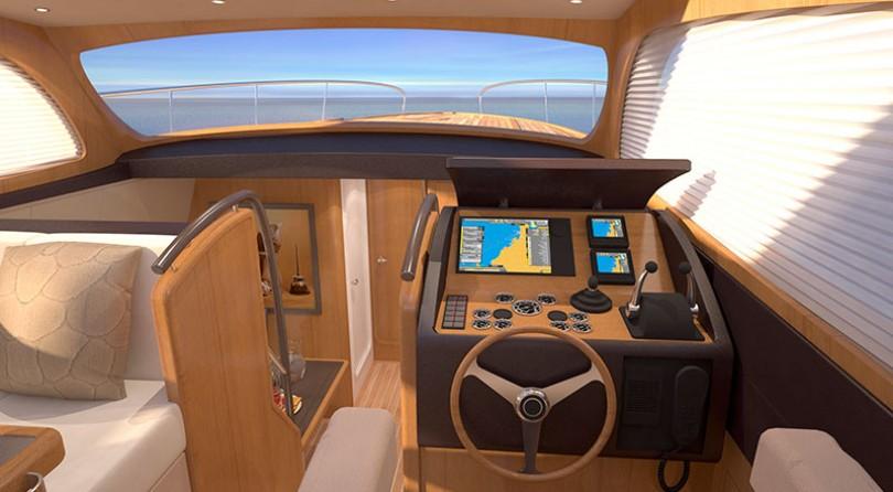 الطلب الأول لسفينة  Breedendam MTB fourzero Wheelhouse