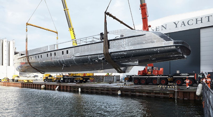 Project Nova: Hull and superstructure joined together
