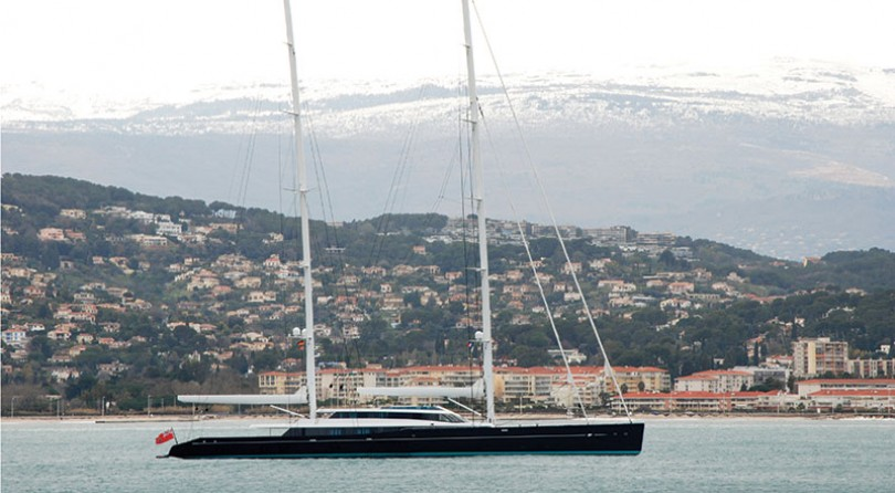 حوض سفن Vitters وOceanco يسلمان يخت إبحار بطول 85 متر، AQUIJO