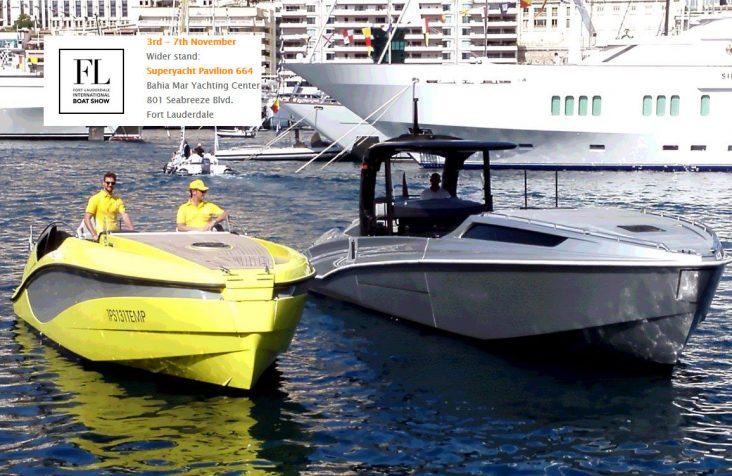 Wider في معرض قوارب فورت لودرديل العالمي لعام 2016