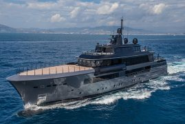 CRN M/Y ATLANTE AWARDED IN AMERICA