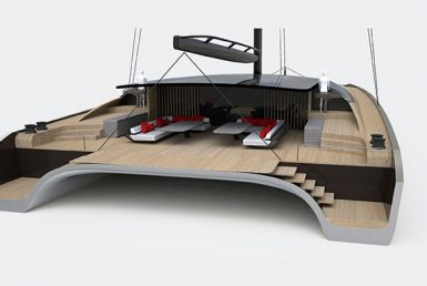 BlackCat Superyachts expand their portfolio with a 35m concept by Malcolm McKeon Yacht Design