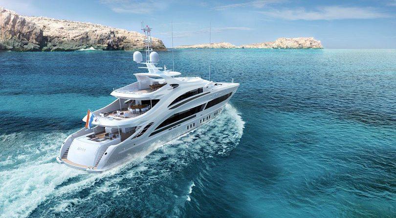 Heesen unveils Project Maia, 50m steel displacement motoryacht