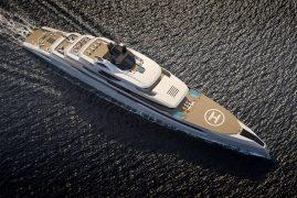 The GANIMEDE by Fincantieri Yachts