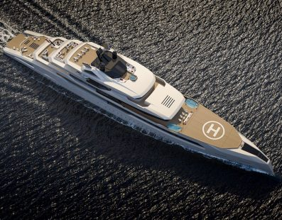 The GANIMEDE by Fincantieri Yachts